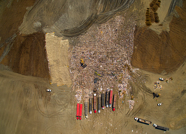 Frank R. Bowerman Landfill Drone Picture