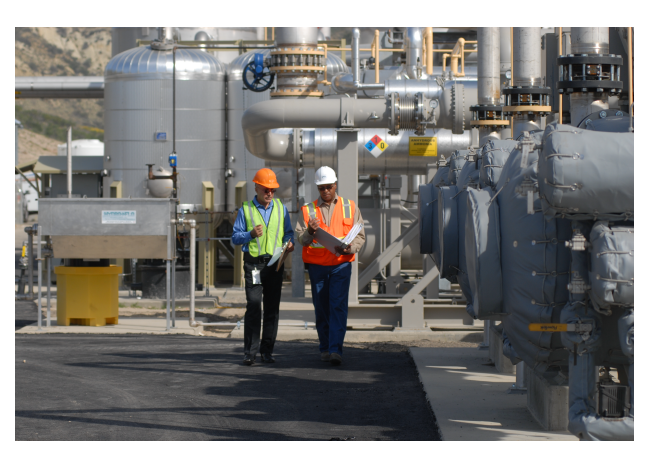 Landfill Gas-to-Energy Plant
