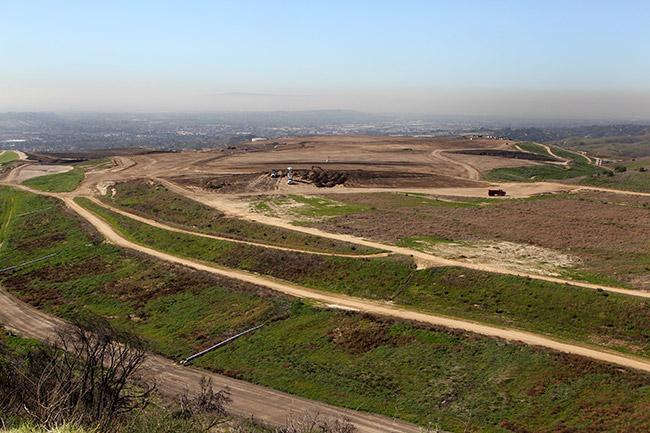 Olinda Landfill View